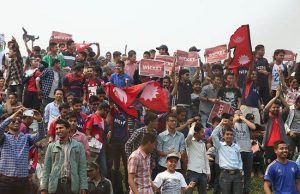 Nepali-cricket-fan