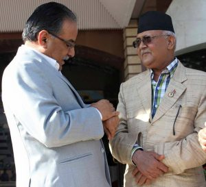 Kp oli and Prachanda