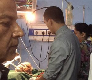 Koirala in hospital