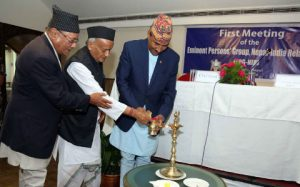 Nepal and India meeting