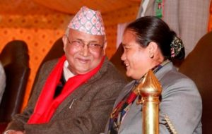 PM Kp Oli and Onsari