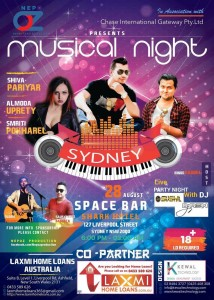Musical night sydney