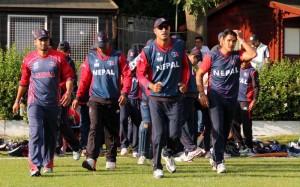 Nepali Cricketer in UK