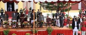 Oath by PM